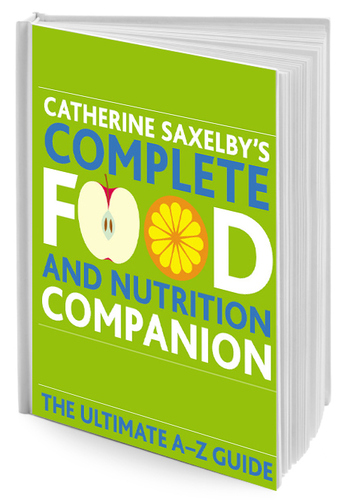 Cover of Catherine Saxelby's book