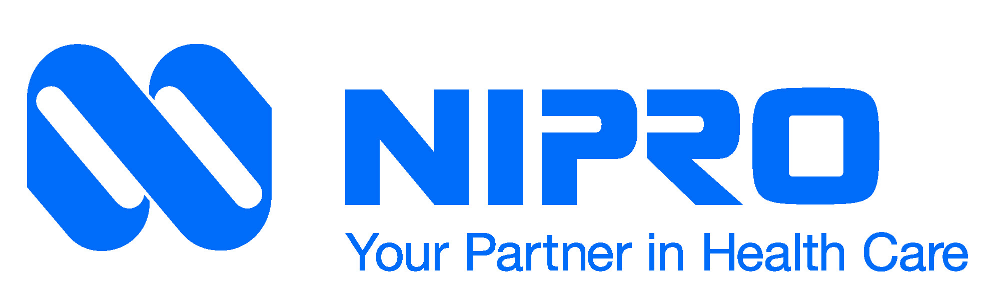 NIPRO Logo with Your Partner in Health Care CMYK