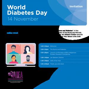 Invitation to members: World Diabetes Day 2020