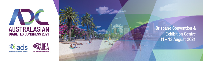 ADC 2021: The Australasian Diabetes Congress 2021 will take place in Brisbane.
