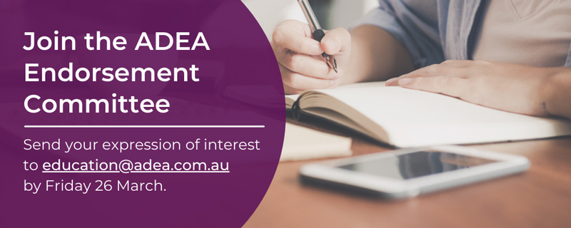 Join the ADEA Endorsement Committee now