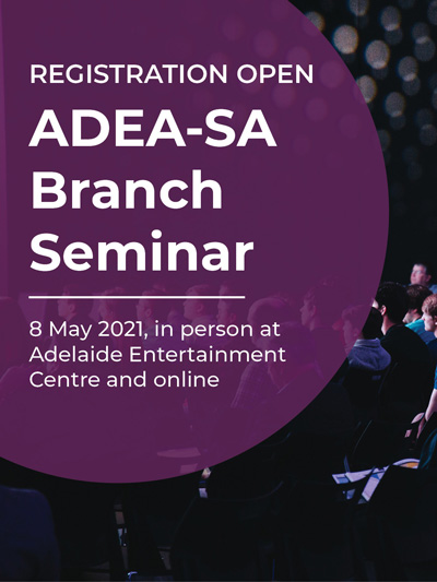 2021 ADEA-SA Branch Seminar: Registration open